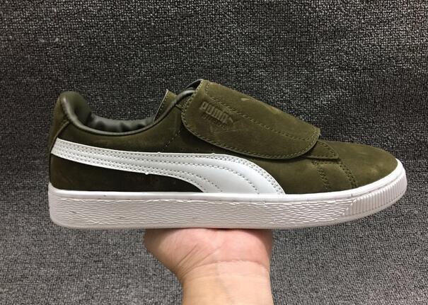PUMA SUEDE WRAP Original New Arrival  Suede Classic Unisex Sneakers Badminton Shoes size40-44