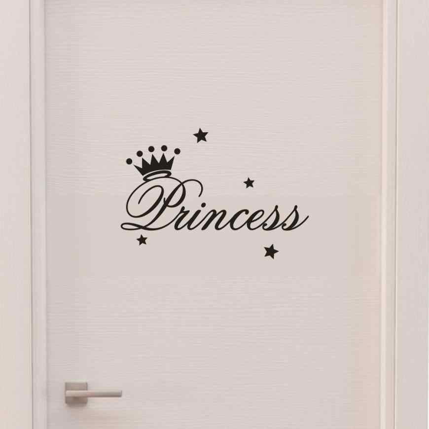 PVC מוצק ילדי חדר קיר מדבקה נשלף נסיכה ישנה קיר מדבקות אמנות ויניל מדבקות תינוק בנות חדר דקורטיבי מדבקות 803