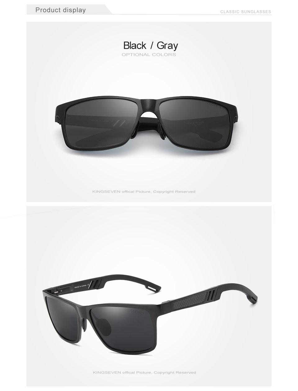 HTB1fQlMeAfb uJkHFJHq6z4vFXao - KINGSEVEN Men Polarized Sunglasses Aluminum Magnesium Sun Glasses Driving Glasses Rectangle Shades For Men Oculos masculino Male