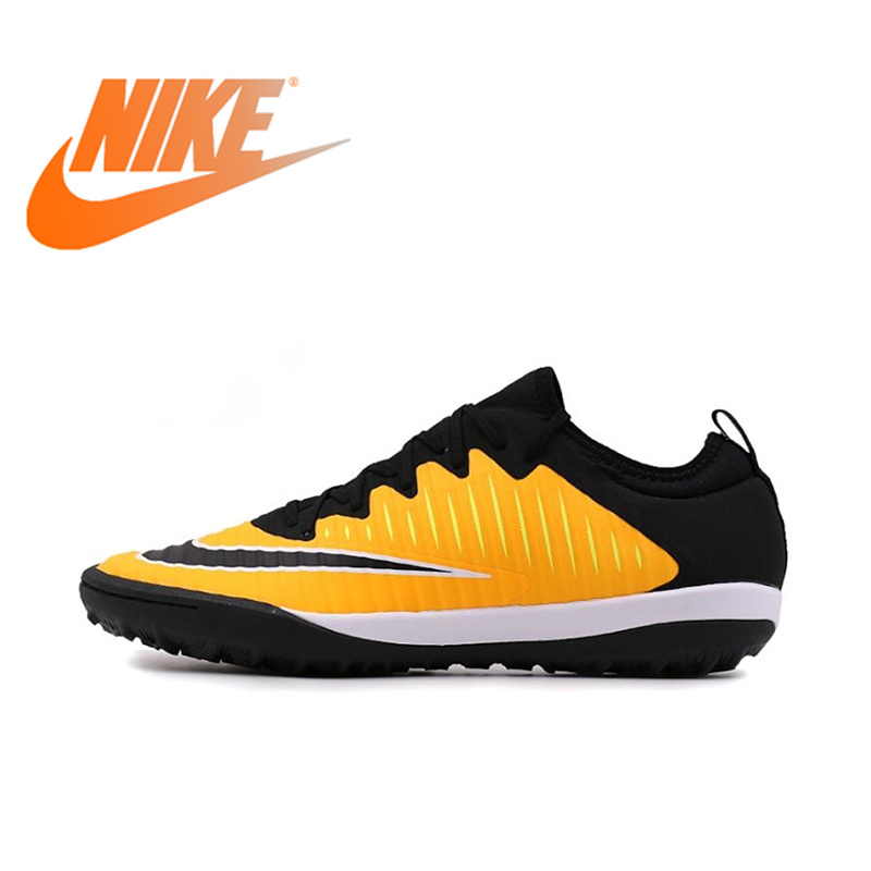Original Official NIKE FINALE II TF Men's Light Soccer Shoes Football Sneakers Breathable Rubber Cozy Sneakers 831975