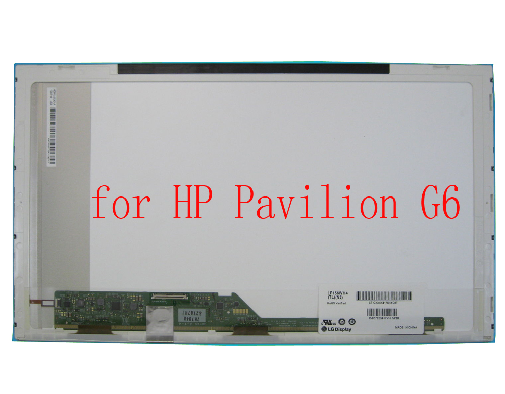 For HP G6 Pavilion G6 Screen 1366*768 HD LCD LED Display Original New Cheapest Laptop Screen in China for hp pavilion dm1z 3000 replacement laptop 11 6 lcd led display screen dm1 series