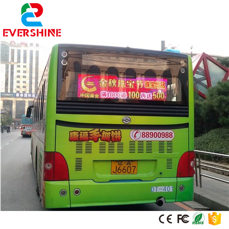 High definition advertising panel led display board/ led moving message billboard for bus david booth display advertising an hour a day