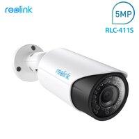 Reolink SD Card PoE IP Surveillance Camera HD 4MP 4x Optical Zoom Autofocus Bullet Cam RLC411S