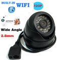 HD 1080P IP Camera Network P2P Onvif Wide Angle 2.8mm Lens Dome WIFI CCTV Wireless Outdoor 24IR LED 720P Camera