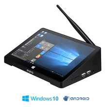 "En la Acción! Original PIPO X9 X9S 2 GB + 32 GB Quad Core Mini PC Smart TV CAJA de Doble SISTEMA OPERATIVO Windows 10 y Android 4.4 Intel Z3736F 8.9 ""Tablet"