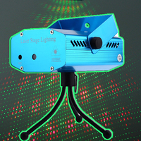 Mini LED Laser Pointer Disco Stage Light Party Pattern Lighting Projector Show Laser Projector Lights Home