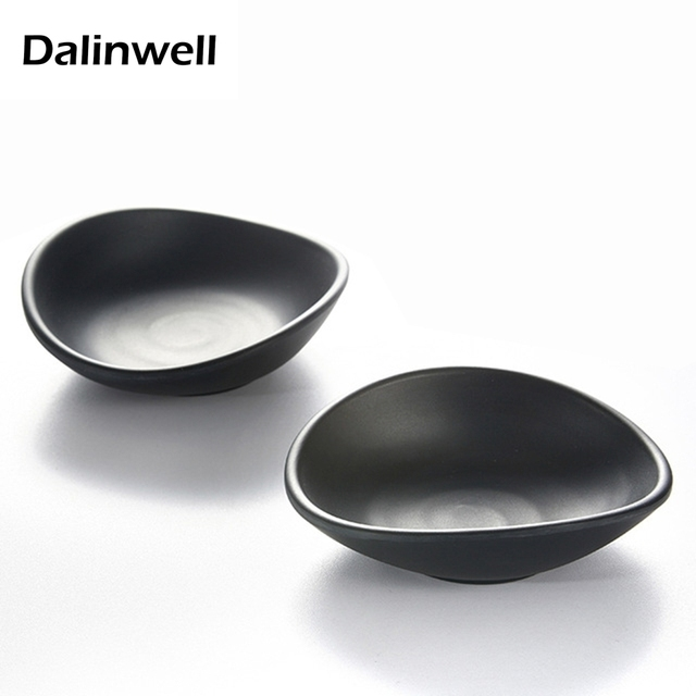 Cheap Price 5inch Irregualr Shape Durable Hard Plastic Black Kitchen Italian Cuisine Bowl Soy Sauce Dish  sc 1 st  AliExpress.com & Cheap Price 5inch Irregualr Shape Durable Hard Plastic Black Kitchen ...