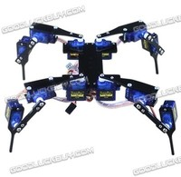 Four Feet Robot 4 Legged 12DOF Hexapod3 RC Mini Spider Robot Frame body Fun