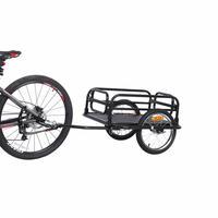 16 дюймов большое колесо Велосипедный спорт прицепы, большой ёмкость складной велосипедный прицеп, Air колёса вагон для кемпинга