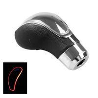 Touching Sensitive Easy Install Universal Durable Leather Gear Shift Knob Fashion Replacement Car LED Light Vehicle Supplies