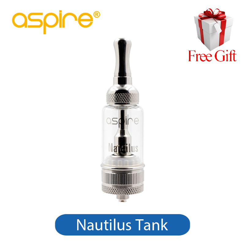 Original Aspire Nautilus Tank Kit 5ml Electronic Cigarette Vaporizer Atomizer Glassomizer Clearomizer with Aspire BVC Coil цены