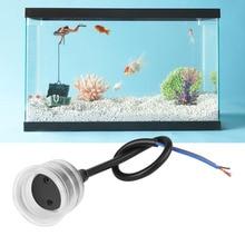 Аквариум для рыбок Водонепроницаемый основание светильника трубных фитингов T5/T8 прозрачный стеклянный абажур светильник фотолампы с Кепки аквариум Водонепроницаемый лампа