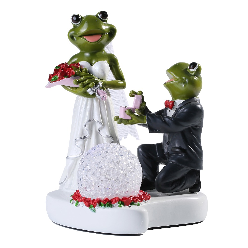 Wedding Collectibles Frog Couples Design Wedding Gift