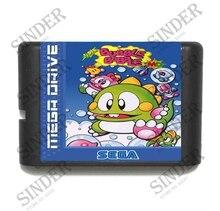 Super Bubble Bobble 16 bit MD Game Card For Sega Mega Drive For Genesis
