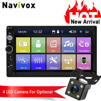 Navivox 2 Din Car Multimedia Player MP5 Car Radio Tuner MP5 / MP3 bluetooth FM/USB/AUX (no dvd)