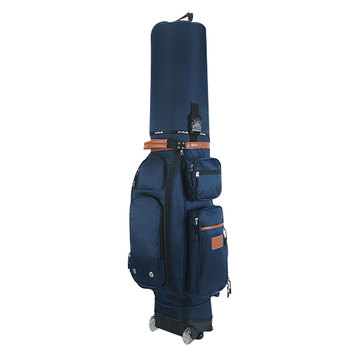 Golf Club Pulley Bag Airplane Multifunctional Tug Standard Bag Big Capacity with Password Cart and Rain Cover Caddy Viation Bag