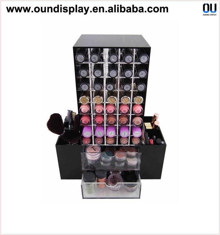 Fonkelnieuw Acryl make up organizer roterende mac lipstick houder met kant FH-53