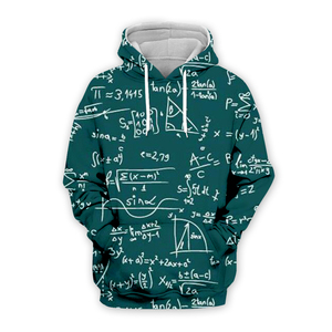 PLstar Cosmos Math science hoodies for boy Graphic 3d sweatshirts/vest/tee men/women funny print Einstein Zipper casual style-5