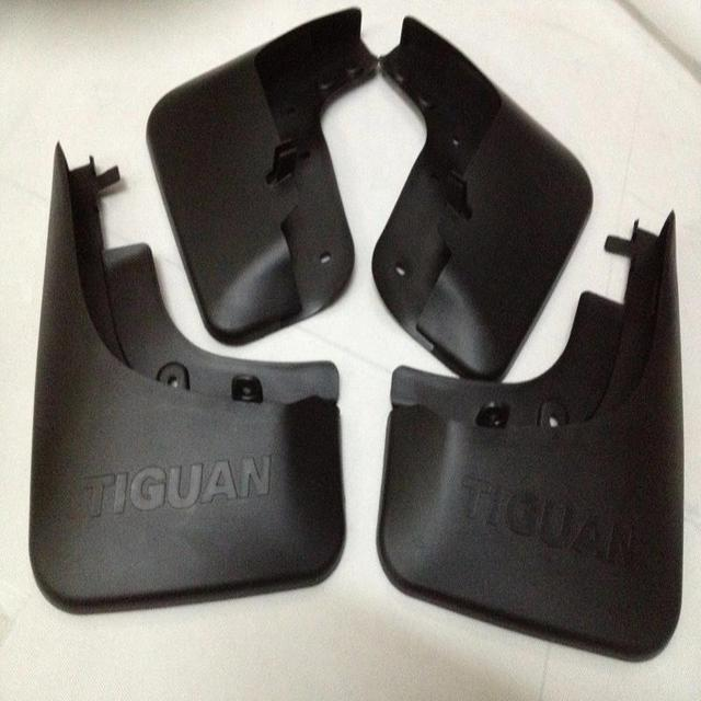 Acessórios do carro para VW Volkswagen Tiguan Mud Flaps Splash Guard Mudguards Mud Palas Respingo Guardas Paralama 2009-2016 4 pçs/set