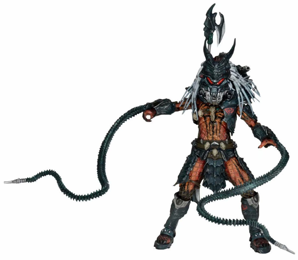 18cm The Predator leader Tribute Edition Kenner Action figure toys doll collection Christmas gift with box18cm The Predator leader Tribute Edition Kenner Action figure toys doll collection Christmas gift with box