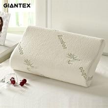 Giantex высокое качество из бамбукового волокна подушка медленный отскок пены памяти подушки здравоохранения подушка Массажер travesseiro Almohada U0301