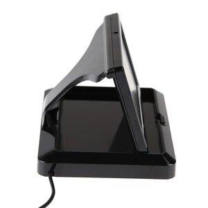 """Image 2 - ANSHILONG Monitor LCD plegable de 5 """"para coche, Monitor retrovisor para cámara de Vista trasera de coche"""