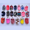 1 Pair Cotton Cloth Winter First Walker Cartoon Baby Boy Girls Shoes Bebe Toddler Moccasins 0-24M Non-slip Soft Bottom Shoes