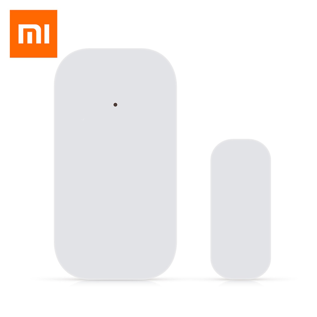 Update Xiaomi Aqara Smart Window Door Sensor Zigbee Wireless Connection Mini Door Sensor Mi Home App Control Support Android IOS