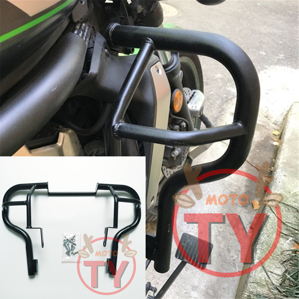 Motorcycle Engine Bumper Guard Crash Bars Protector Steel For KAWASAKI VN650 Vulcan S 650 15 17 2015 2016 2017