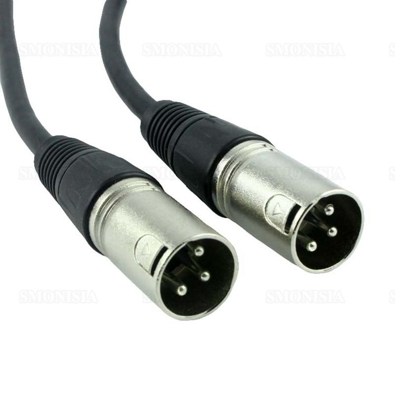 5pcs- 100pcs On Sale Balance XLR Cable Male To Male Audio Microphone Console Wire Black 1.5m on sale 100