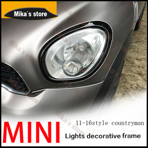 Image 3 - ABS ل ميني كوبر مواطنه R60 F60 سيارة التصميم الخلفي أضواء خلفية + رئيس مصابيح الحافات يحيط يغطي سيارة التصميم (4 قطعة/المجموعة)