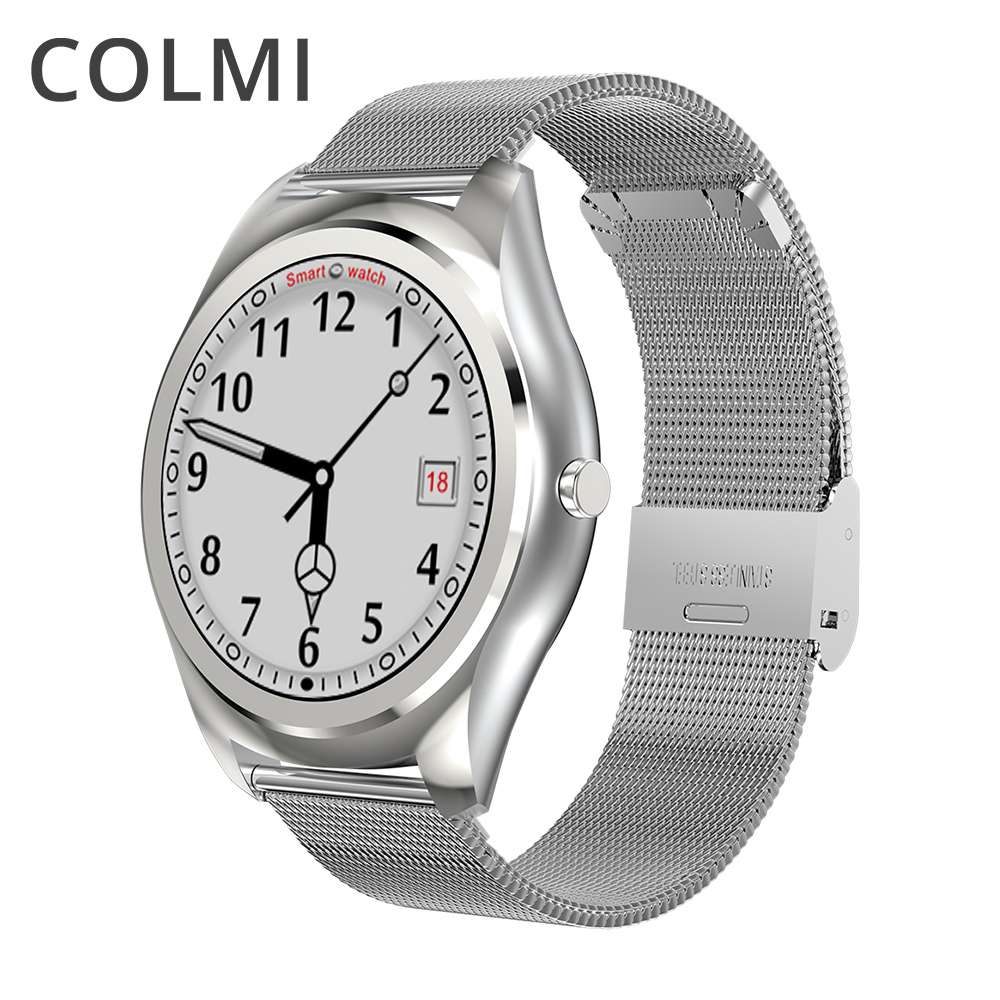 COLMI N3 Pro 1.3 inch Smart Watch MTK2502 HD Slim Bluetooth Call Media Heart Rate Monitor Fitness Tracker Pedometer Smartwatch все цены