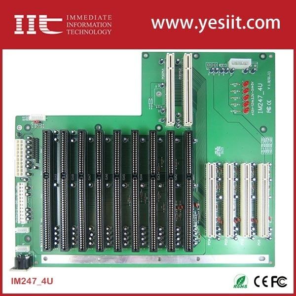 IM247-4U Industrial Backplanes 9 ISA 2 PCCPU 4 PCI IM247-4U