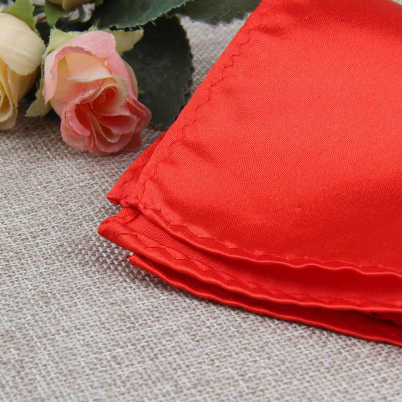 גברים לבן מטפחת חליפת כיס כיכר מגבת אביזרי חתונה משתה יום נישואים מסחרי שחור אדום כחול חזה מגבת
