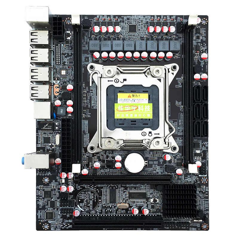 216*170 мм мини-блок питания ATX X79 материнская плата LGA2011 USB2.0 SATA3.0 для рабочего стола материнской платы 2 * DDR3 1866/1600/1333 МГц материнская плата компьютера