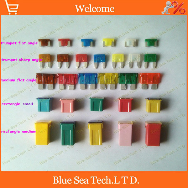 5 Type 32 Models 32pcs 5a To 60a Original 4s Auto Fuse An Pec And