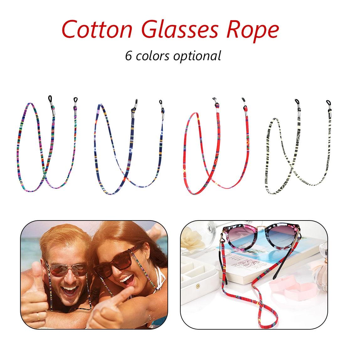 1 шт., 6 цветов, кожаный шнурок для очков, регулируемый конец, держатель для очков, красочные кожаные очки, шейный ремешок, веревка, ремешок