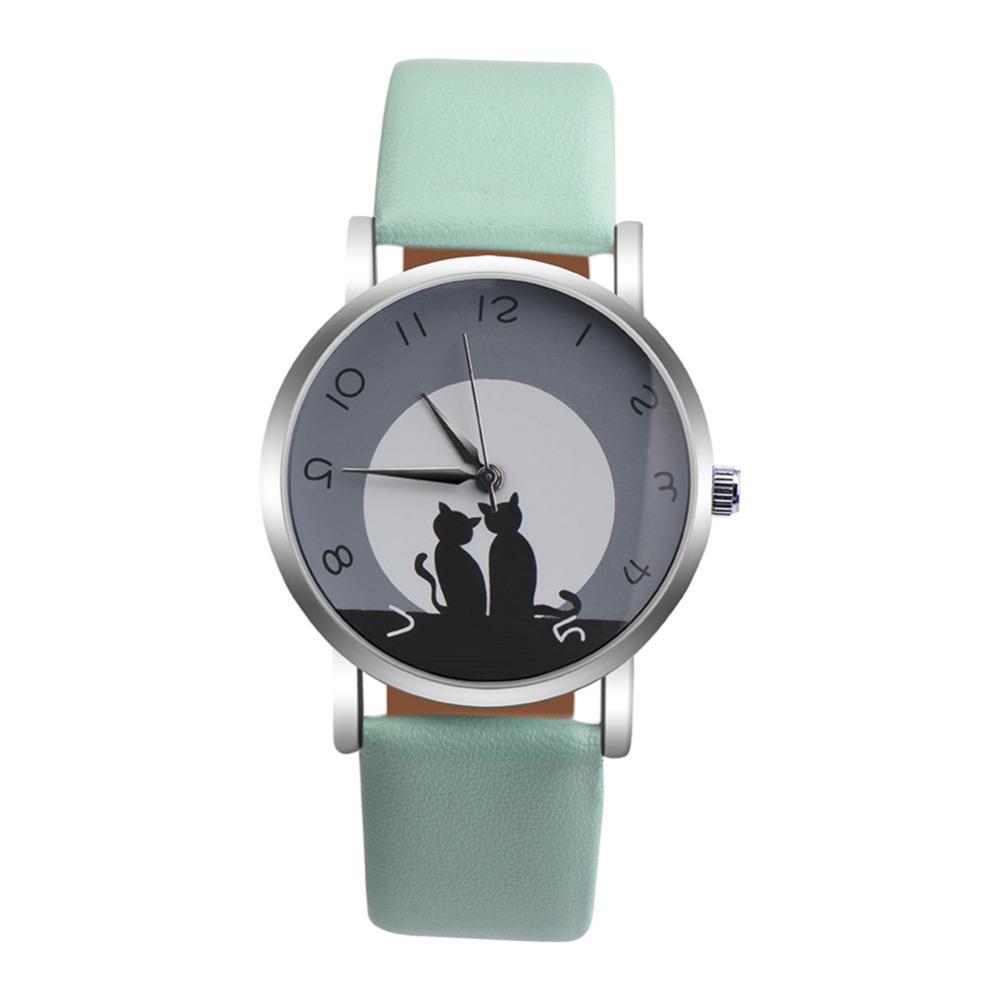Ladies Gift Cat Watch
