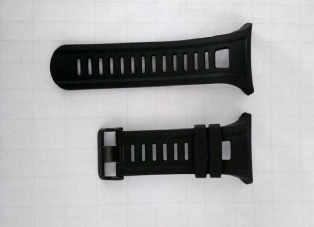 Оригинальный 25 мм Черный Силиконовой Резины Смотреть Band Водонепроницаемый Цифровые Часы, Ремешок Для Спортивные Часы SunRoad FR801 Часы