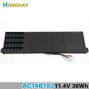 Image 4 - HONGHAY AC14B18J New Laptop Battery for Acer Aspire E3 111 E3 112 E3 112M ES1 531 B116 MS2394 B115 MP AC14B13j N15Q3 N15W4