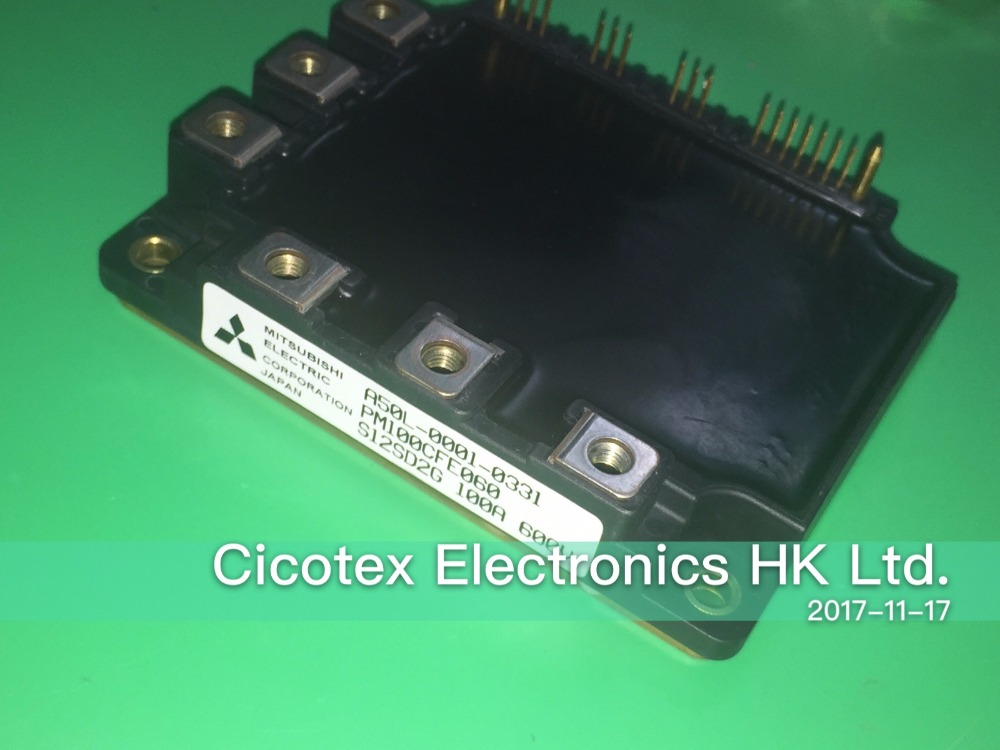 PM100CFE060 IGBT POWER MODULE A50L-0001-0331 INTELLIGENT POWER MODULES FLAT-BASE TYPE INSULATED PACKAGE igbt power module 6mbi100fa060 6mbi100fa 060 a50l 0001 0212