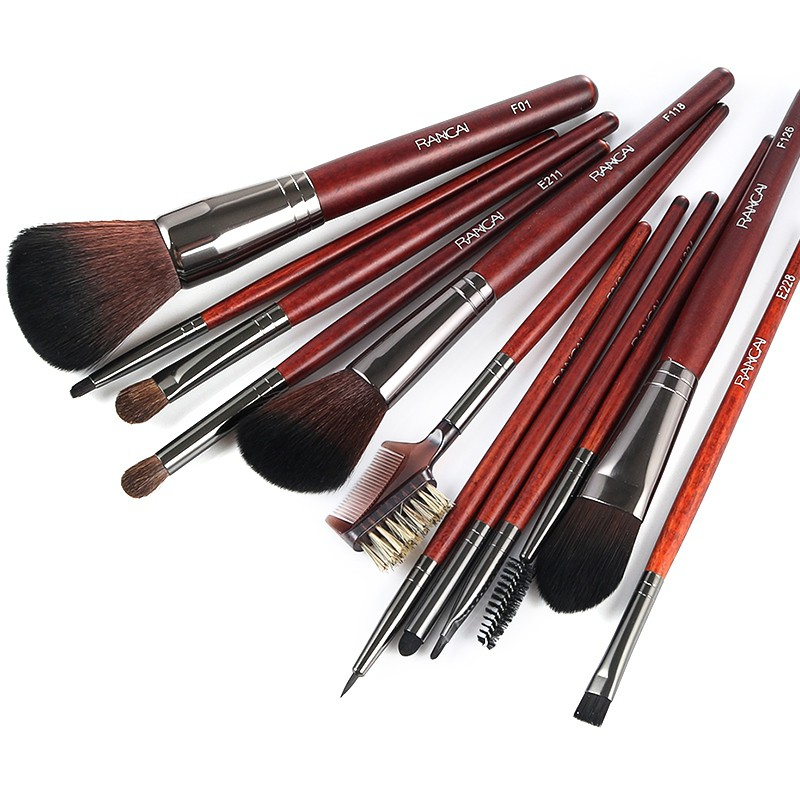 12pcs Makeup Eyeshadow Brushes Set Eye Shadow Make Up Brushes Soft Synthetic Hair