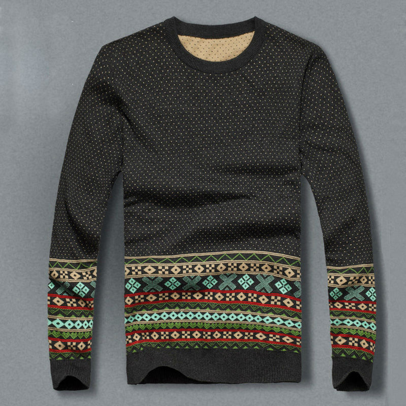 christmas sweater 2014 new mens winter sweater mens fitted sweater fashion knitwear leisure classic pullover men sweaters in pullovers from mens clothing - Classic Christmas Sweaters