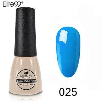 Elite99 Nagel Gel Transparent Blau UV LED Tränken Weg Emaille Nail art Gel Polnischen Semi Permanent Lack 26 FARBEN Nagel gel Polnisch