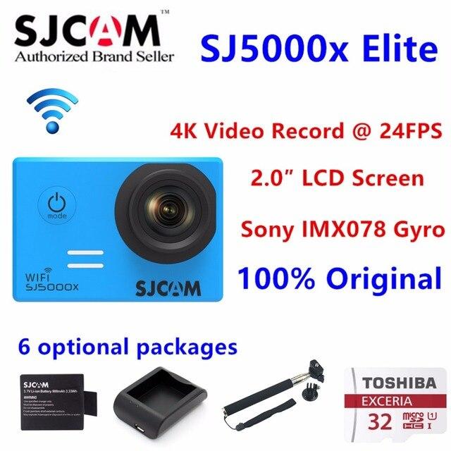 Original Sjcam Sj5000x 4k Elite Edition Action Camera