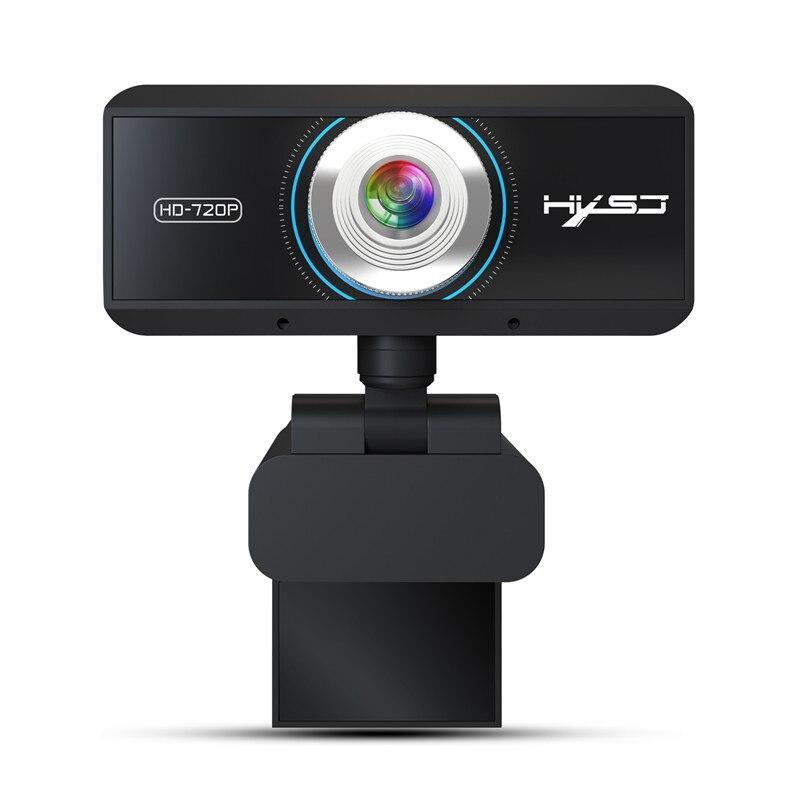 HXSJ Ordinateur Webcam HD 720 p Intégré 8 m absorbant le Son Microphone HD Ordinateur Caméra Rotation 360 Degrés pour PC De Bureau D'ordinateur Portable