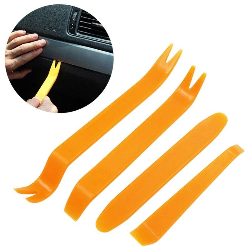 Hot Selling!! Auto Safety Tool 4 Stks Autoradio Deur Clip Panel Trim Dash Audio Removal Installer
