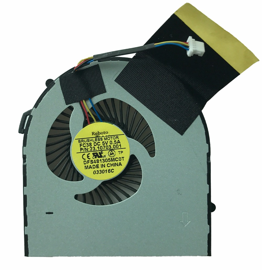 c724e1b2f745 US $7.19 10% OFF Brand New Laptop CPU Cooling Fan Fit For ACER V5 531 531G  V5 571 571G V5 471G DFS481305MC0T FC38 DC5V 0.5A 90Days Warranty-in Fans &  ...