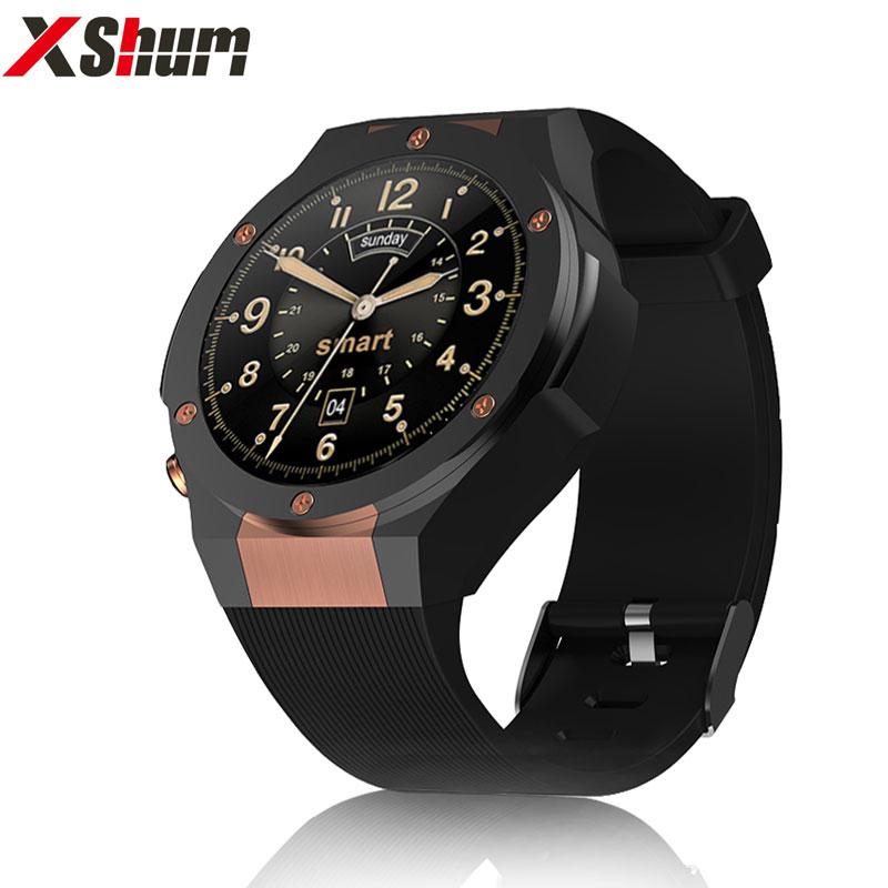 XShum Smart watch H2 android ios 1G+16GB 1.39 inch mtk6580 SmartWatch phone 3G wifi GPS 5M heart rate nano SIM GSM WCDMA
