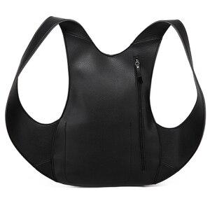 Image 5 - Tortoise Backpack Women Bags Travel Anti Theft Backpack Shoulder Bag Leather Motorcycle PU School Bagpack Men College Back Pack